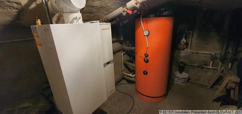 Heizungsanlage mit seperaten Wärmekostenzähler