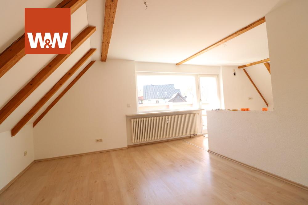 Wohn-/Küchenbereich im DG